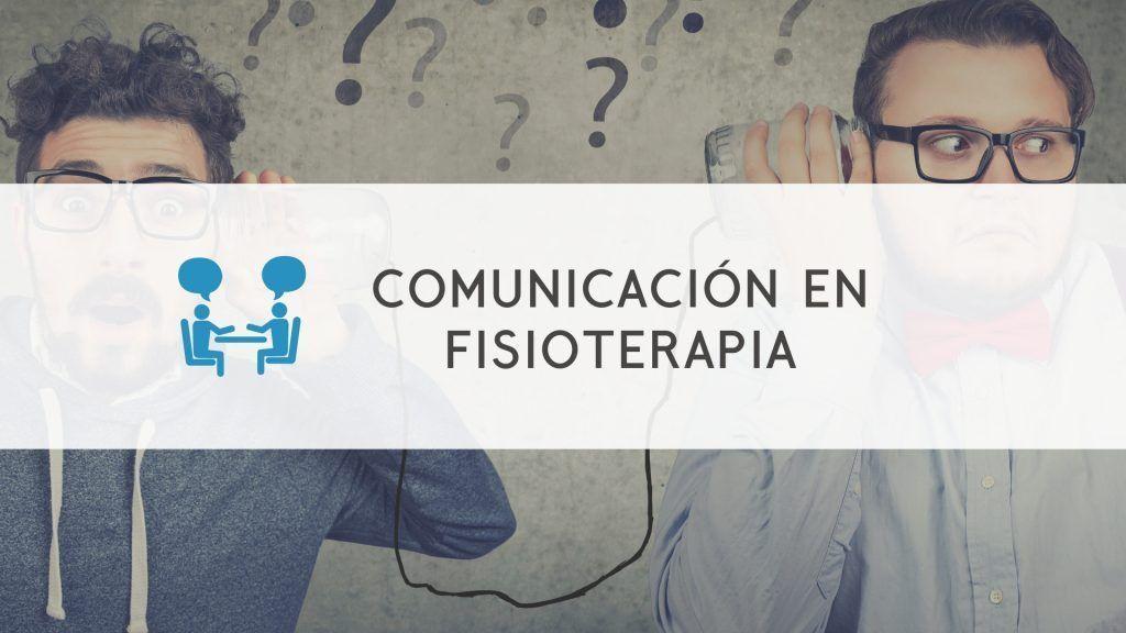 webinar de comunicacion en fisioterapia